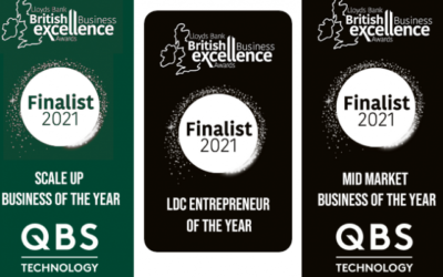 Good Things Come In Threes For QBS — At British Business Excellence Awards