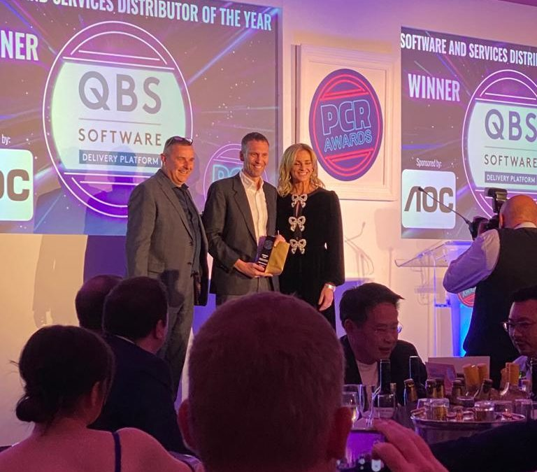 Victory! QBS Adds Another Distribution Accolade At PCR Tech Awards 2021